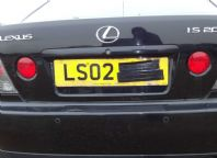 2002 LEXUS IS200 IS300 PAIR REAR FOGLIGHT NICE CLEAN GLASS FREE UK POSTAGE